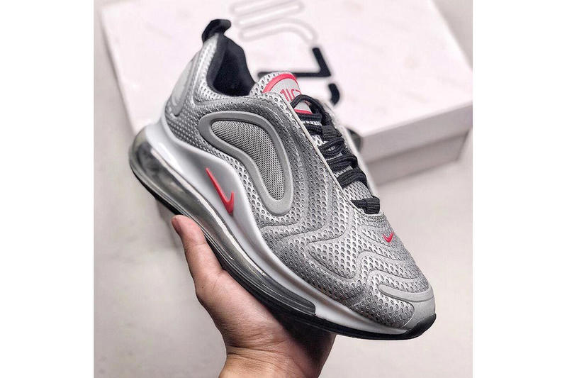 low priced 39698 f29c9 Nike Air Max 720 Silver Bullet