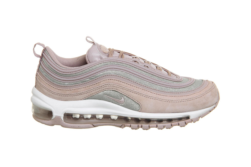 Nike Air Max 97 Particle Rose Pink Silver Glitter Women's Sneakers