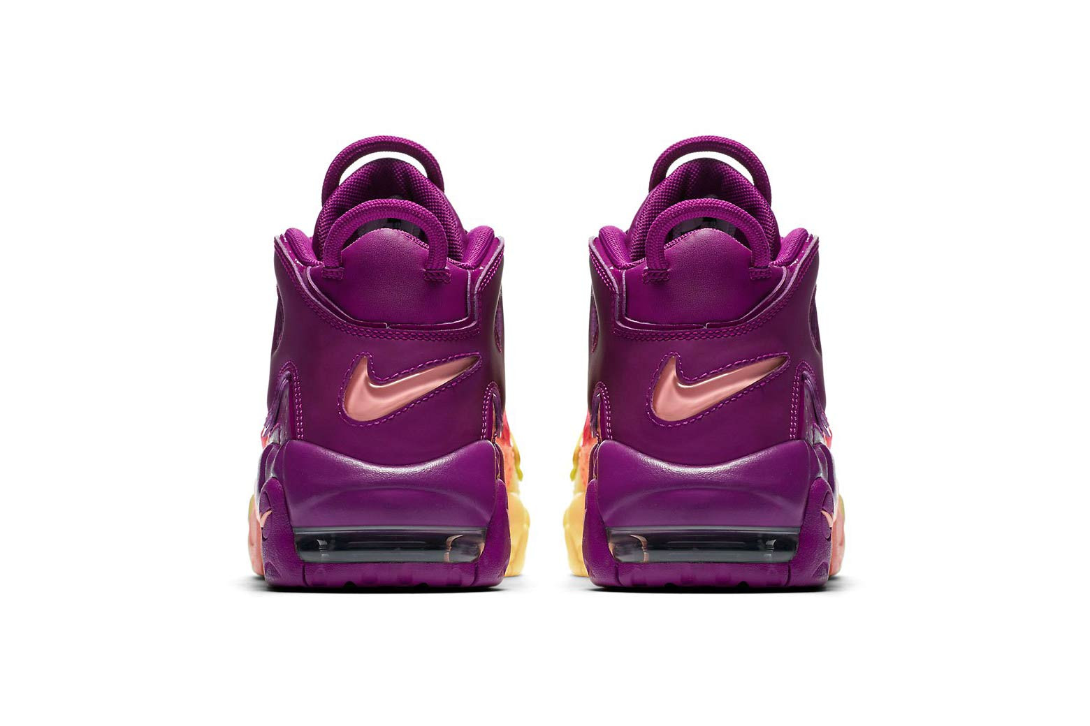 Nike Air More Uptempo in Pink, Purple