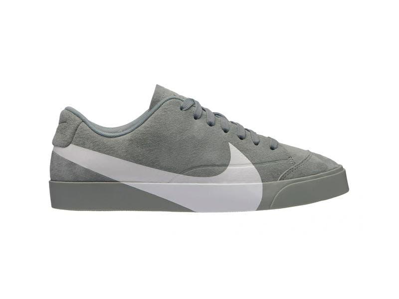 Nike Blazer Low Oversized Swoosh Pink Grey