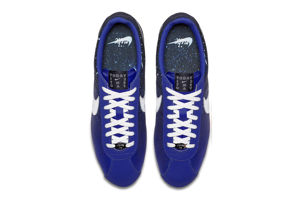 Nike Qixi Chinese Valentine's Day Cortez Classic Nylon Couple Blue