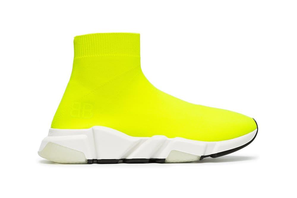 Balenciaga Speed Runner Yellow