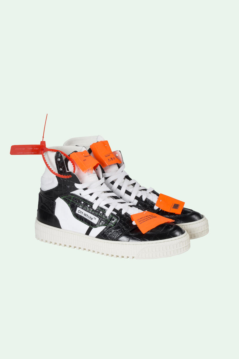 Off White Fall Winter 2018 Pre-Order Collection Fashion Sneakers Shoes Bag Binder Clip Zip Tag