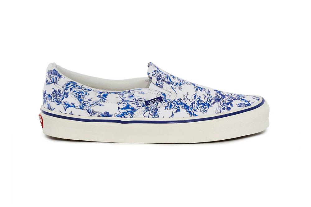 Opening Ceremony Vans Toile Slip On Blue