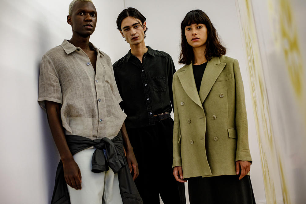 Our Legacy Womenswear SS19 Backstage Images Interview Jockum Hallin Christopher Nying