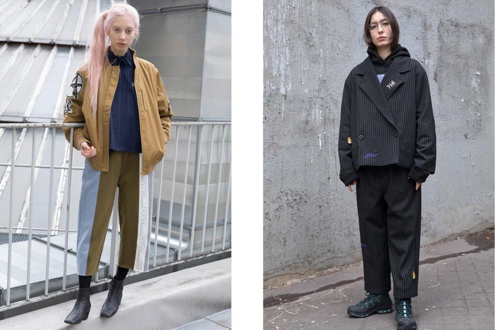P.A.M. Fall/Winter 2018 Lookbook Jacket Tan Blazer Blue