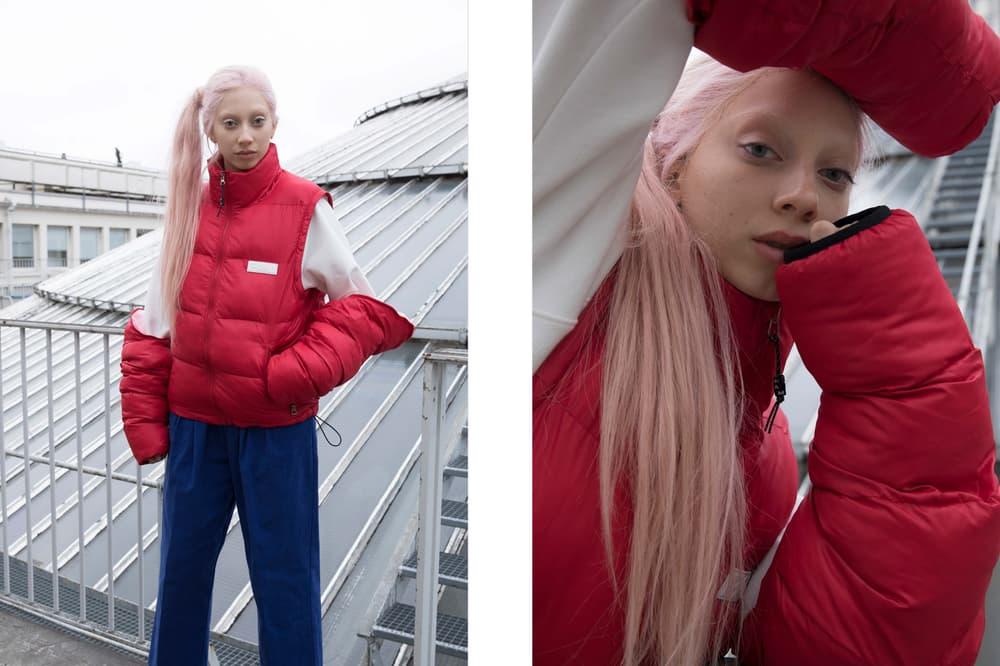P.A.M. Fall/Winter 2018 Lookbook Puffer Jacket Red
