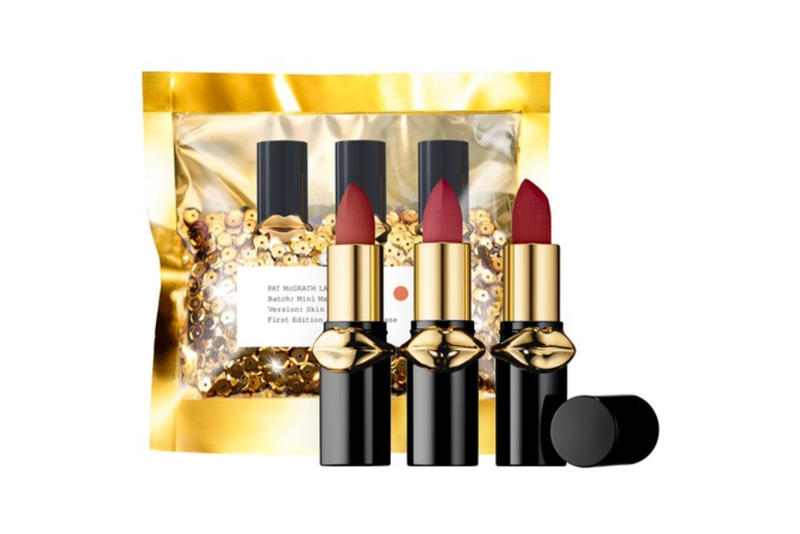 pat mcgrath labs mattetrance lipstick mini skin show trio makeup beauty sephora