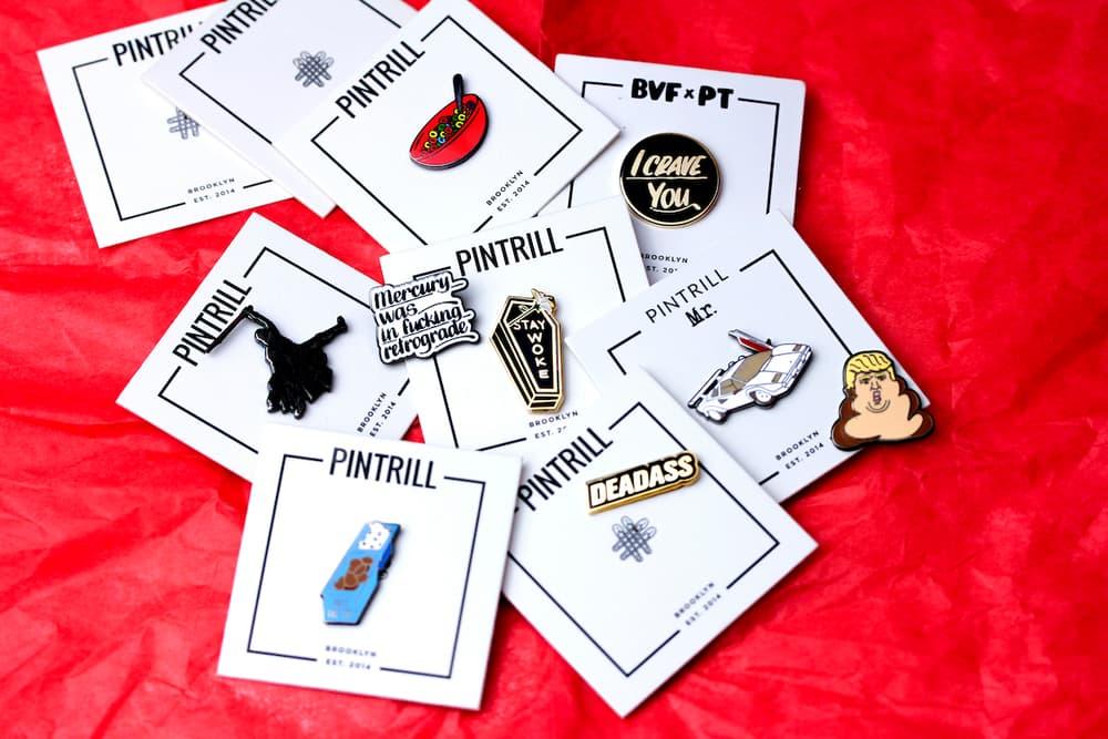 PINTRILL Is Having a Big Sample Sale of Pins | HYPEBAE