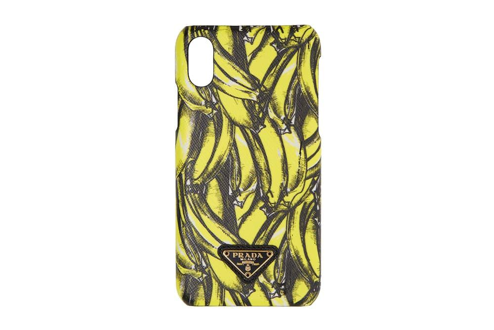 Prada Banana Phone Case Fall Winter 2018 Accessory iPhone X