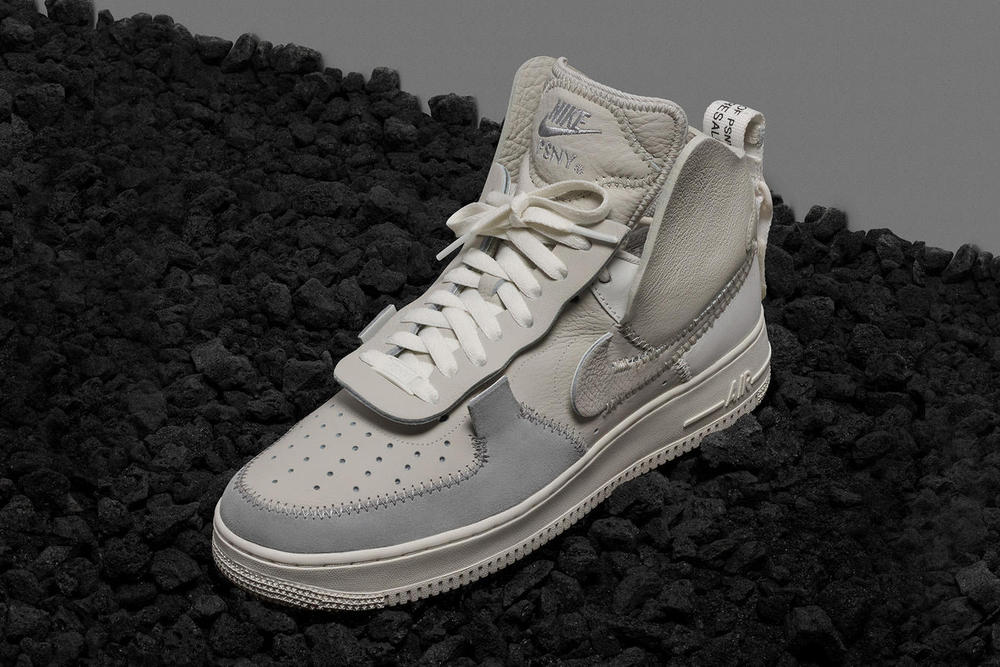 Publyc School NYC Nike Air Force 1 Collaboration Grey Black White Release Date