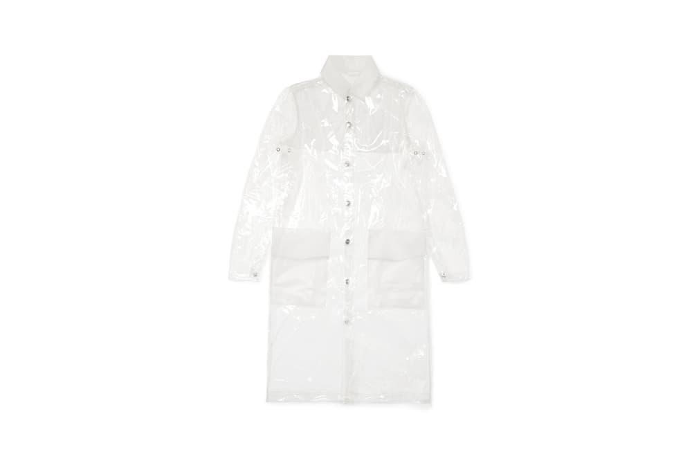 77e52e3029f6ac Rains x Net-a-Porter Capsule Collection Glossed-TPU Raincoat Clear