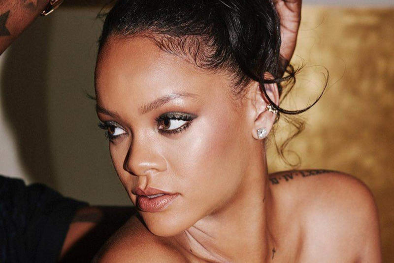 Rihanna Fenty Beauty Getting Ready Backstage Makeup Cosmetics
