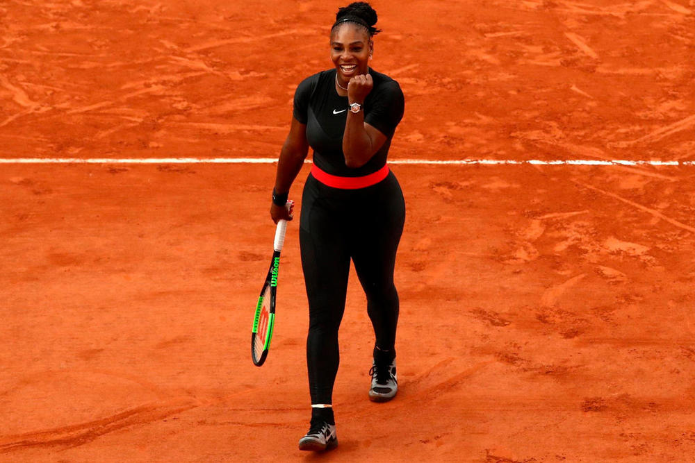 Nike Serena Williams Suit Tennis Custom French Open Ban Banned