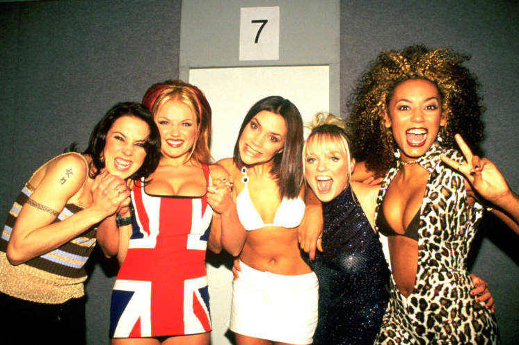 Spice Girls London Exhibition London Posh Ginger Baby Sporty Scary Spice Music Memorabilia Fans Costume Buffalo