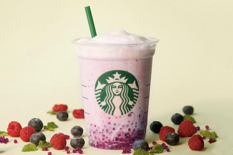 Starbucks Indonesia Singapore Açaí Mixed Berry Yogurt Frappuccino