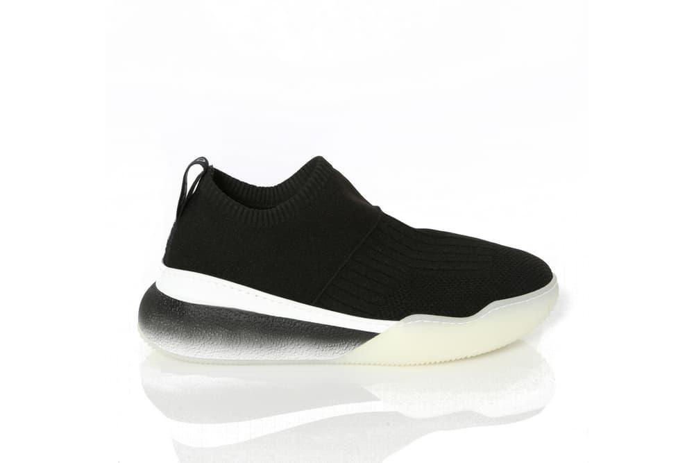 Stella McCartney Sustainable Loop Sneaker Shoe Sock Trainer Red Black
