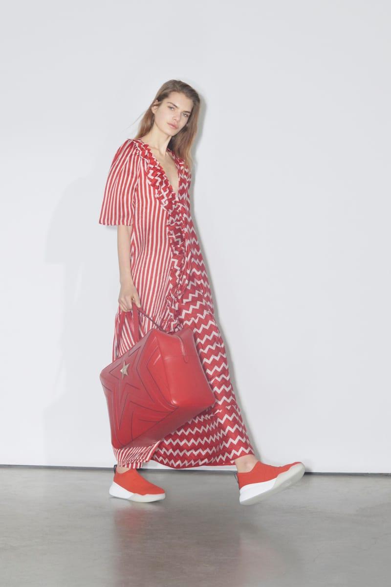 Stella McCartney unveils biodegradable shoes