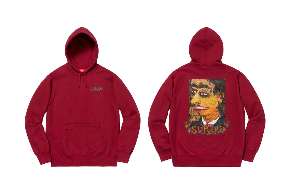 8e12d75e0d43 Supreme Fall Winter 2018 T Shirts Jackets Sweaters Pants Hats