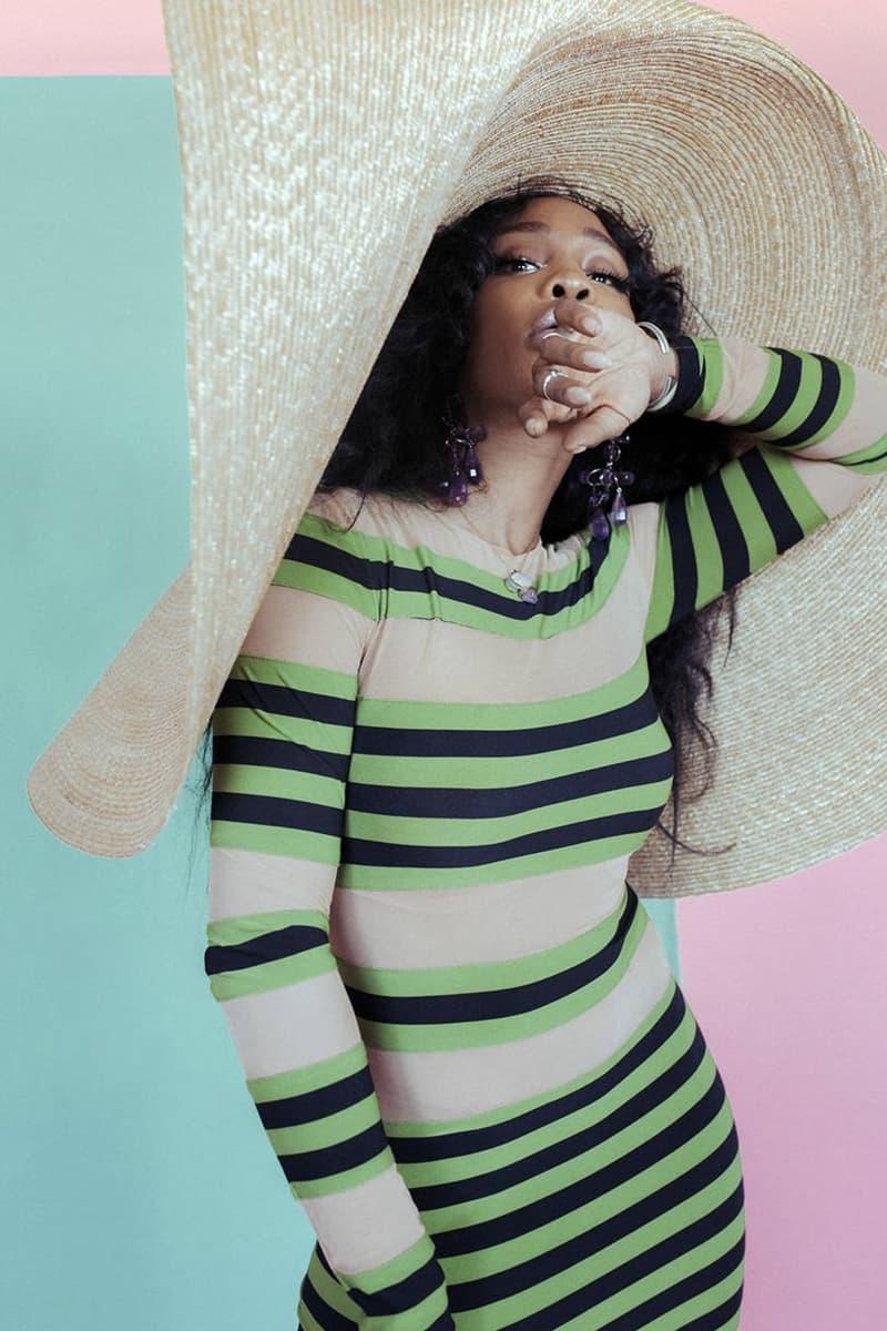 SZA Interview British Vogue CTRL Music Album Art Fashion