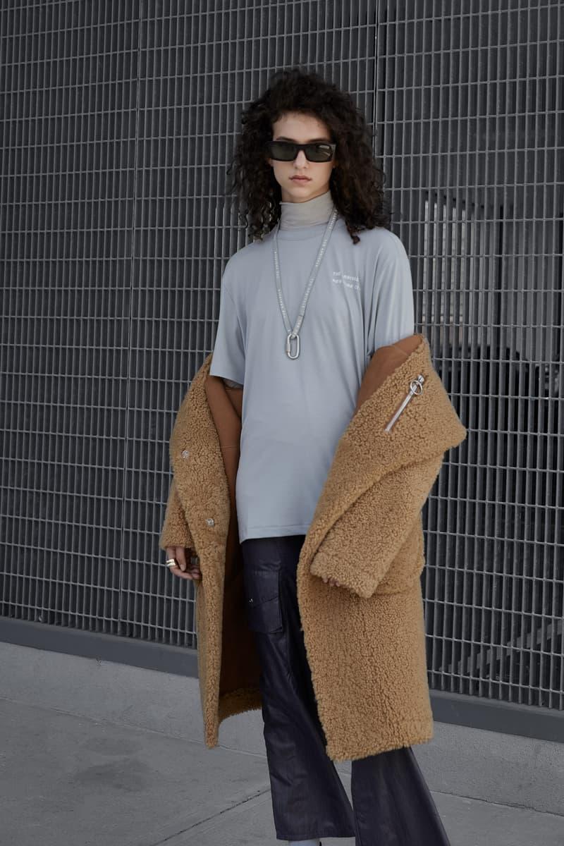 The Arrivals Fall/Winter 2018 Collection Lookbook Koda Natural Tan Shirt Grey