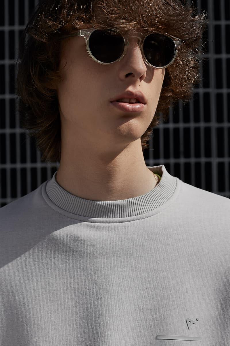 The Arrivals Fall/Winter 2018 Collection Lookbook CoEd Sweatshirt Vapor
