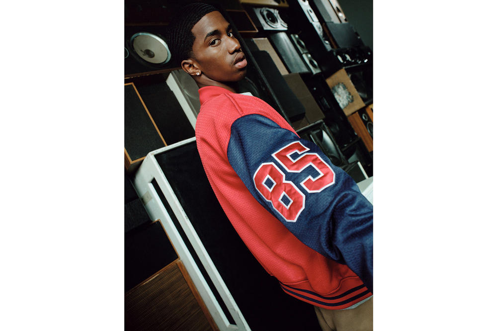 Tommy Jeans Fall/Winter 2018 Campaign Christian Combs Bomber Jacket Red Blue