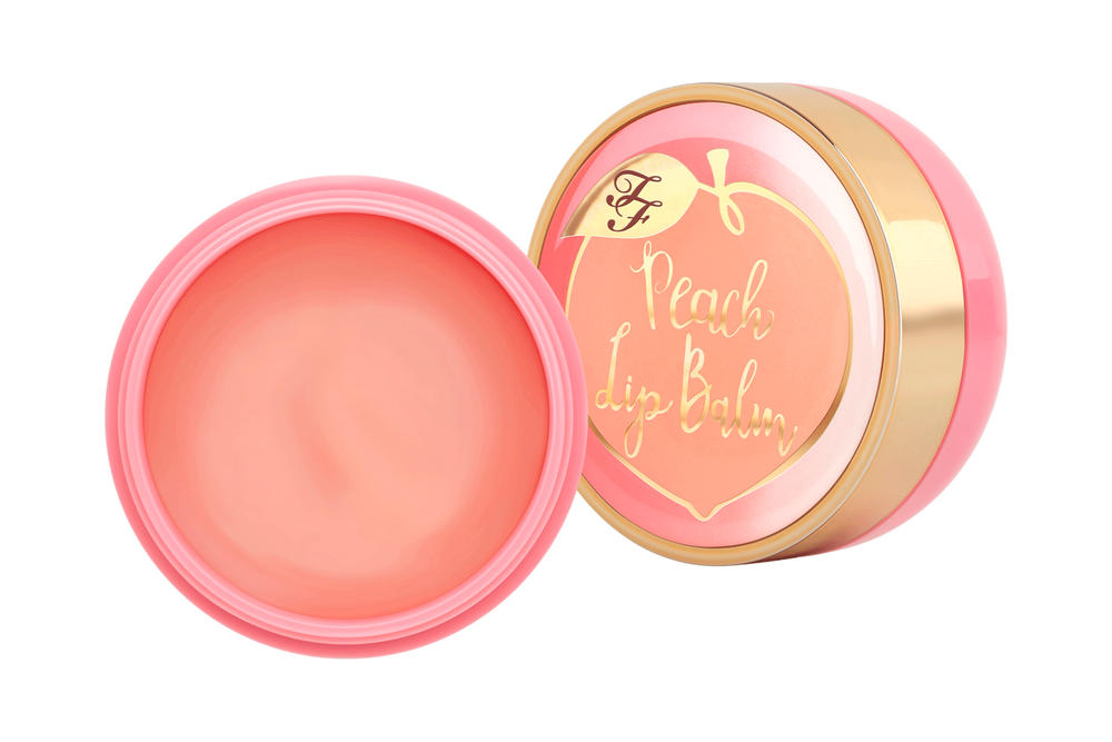 Too Faced Peaches and Cream Makeup Beauty Cosmetics Lip Scrub Foundation Eyeshadow Face Palette Lipstick Highlighter Bronzer