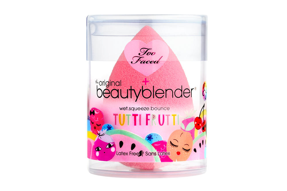 Too Faced Tutti Frutti Makeup Dew You Beautyblender Pink