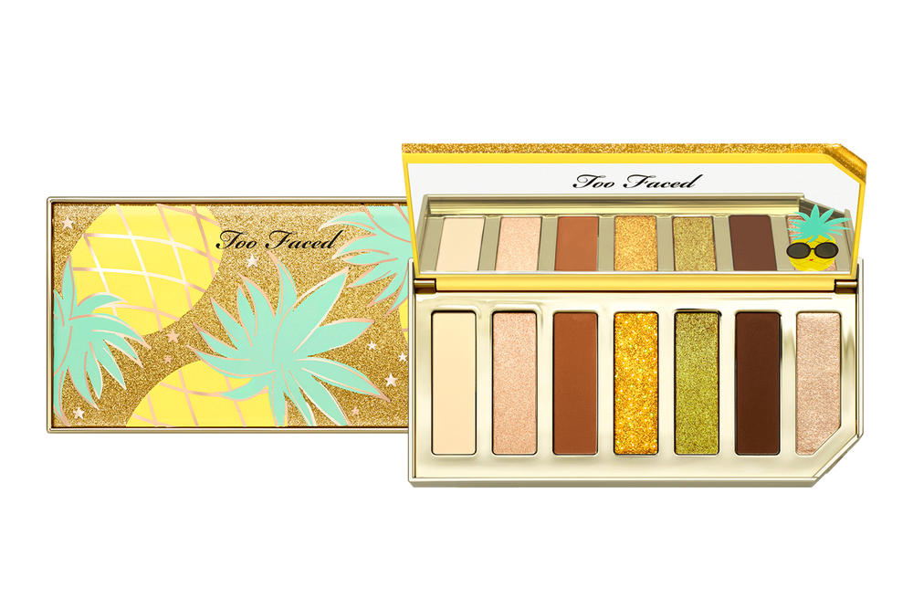 Too Faced Tutti Frutti Makeup Eyeshadow Palette Yellow Pineapple