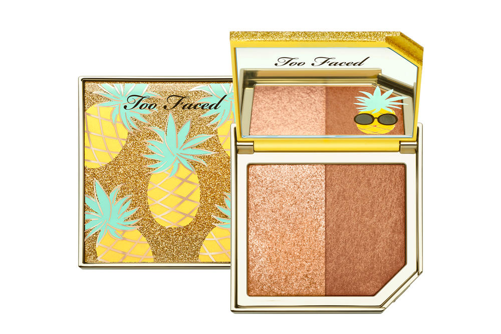 Too Faced Tutti Frutti Makeup Dew You Pineapple Paradise Highlighter Bronzer
