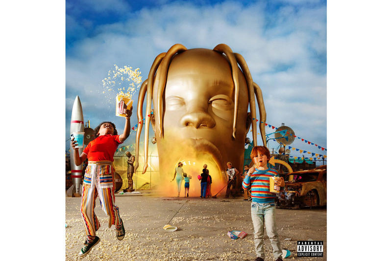 Travis Scott Astroworld Album Cover