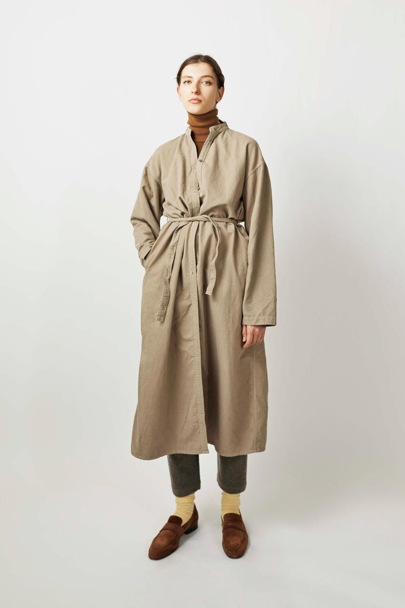 undecorated Fall/Winter 2018 Lookbook Coat Khaki