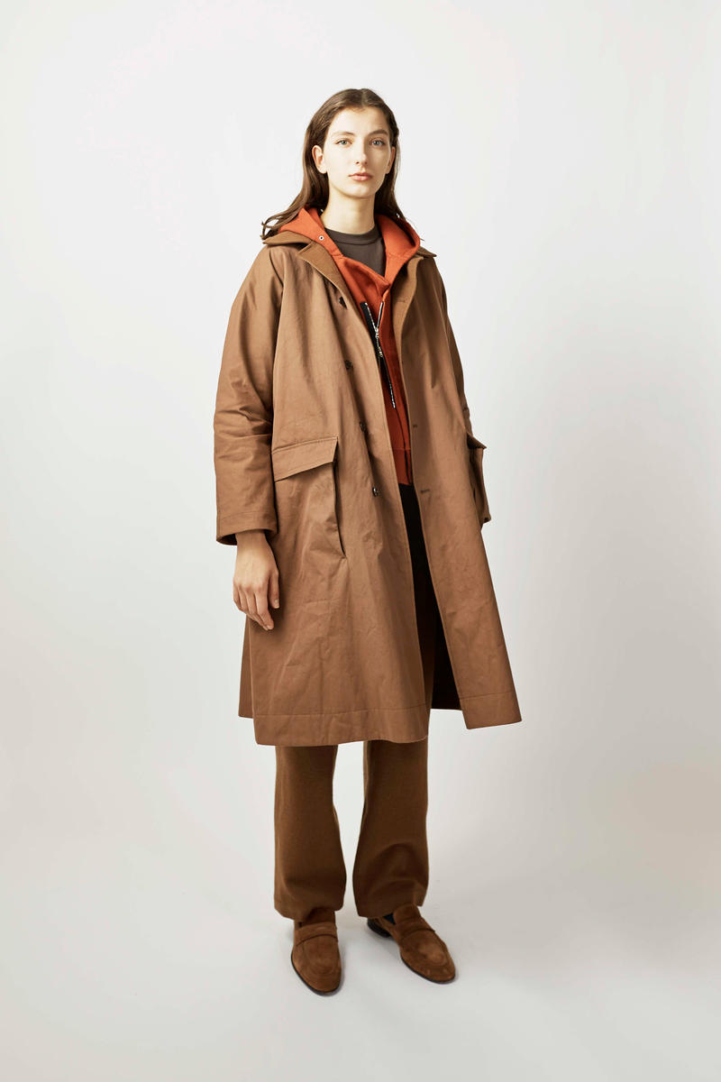 undecorated Fall/Winter 2018 Lookbook Coat Tan Trousers Brown