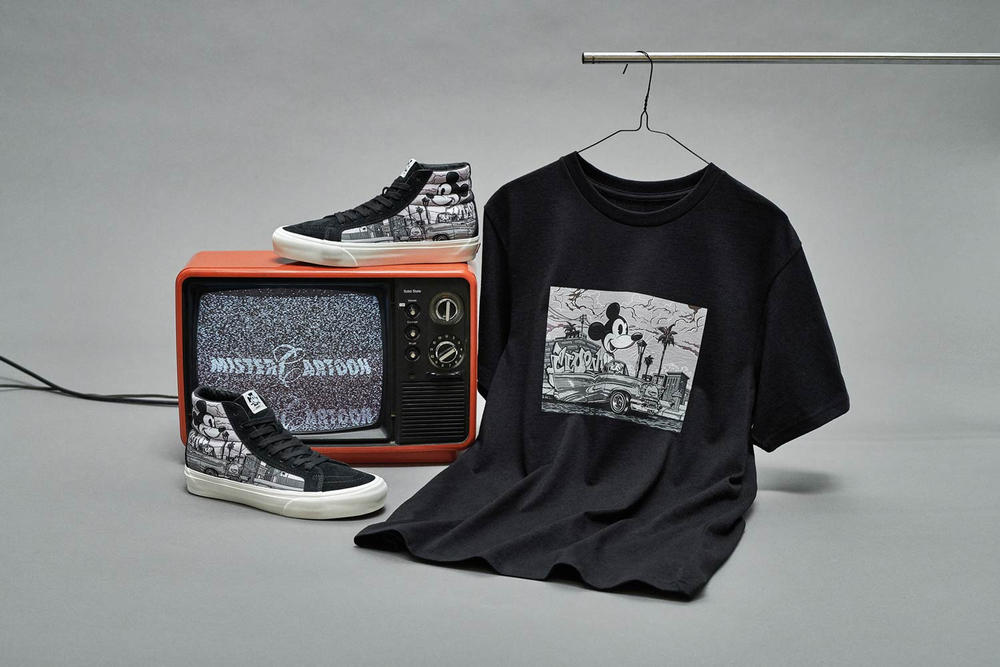Vault by Vans Mickey Mouse Sk8 Hi LX