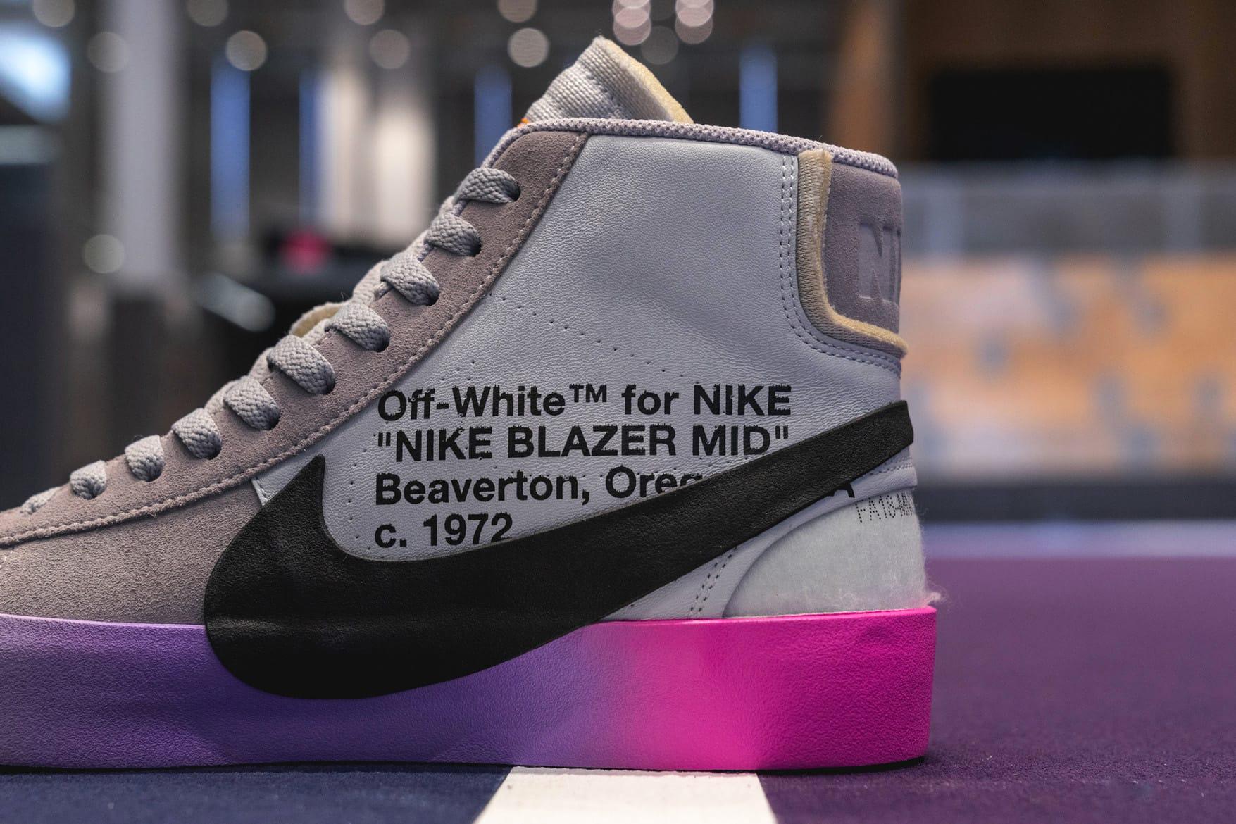 Serena Williams' Off-White x Nike