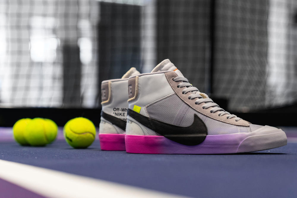 Serena Williams Off-White Nike Blazer Air Max 97 NikeCourt Flare Virgil Abloh Queen Collaboration