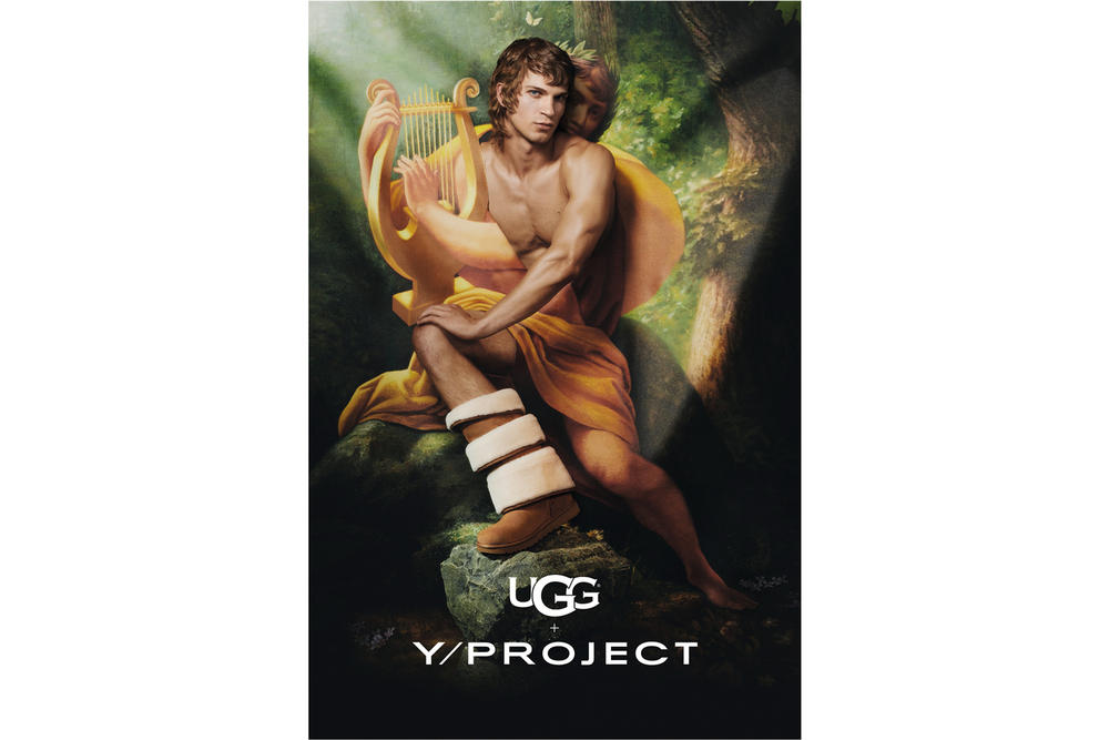 Y/Project x UGG Footwear Campaign Triple Cuff Brown
