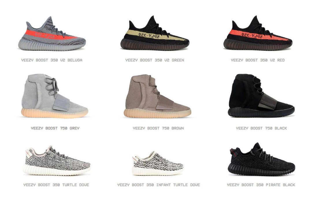 Kanye West Launches Online YEEZY