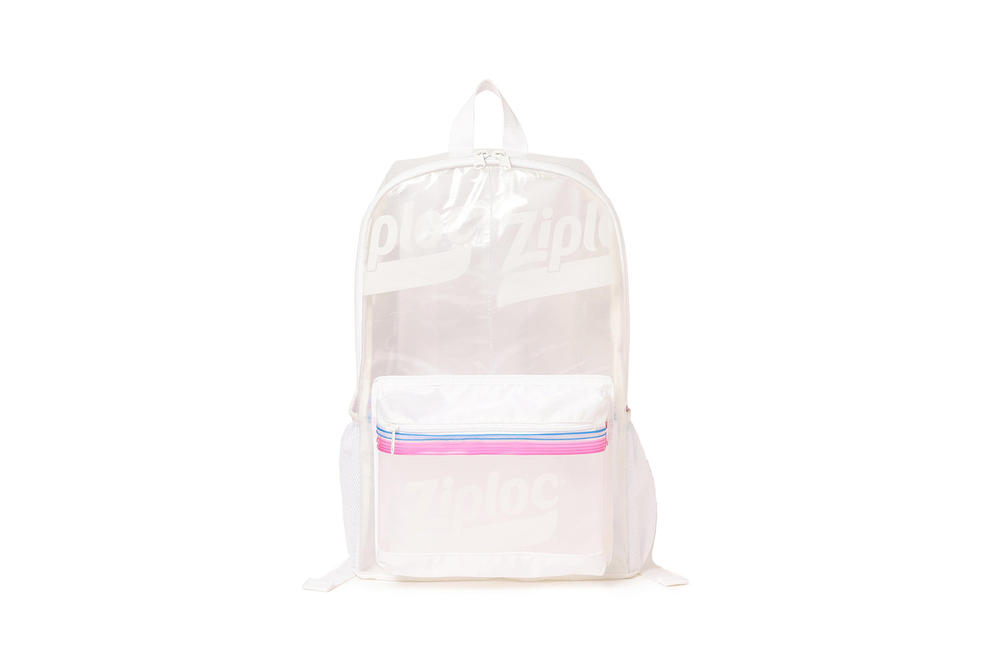 Ziploc BEAMS Backpack Collaboration