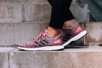Picture of Watch Courtney Loo Run Through New York in adidas pureBOOST DPR Series