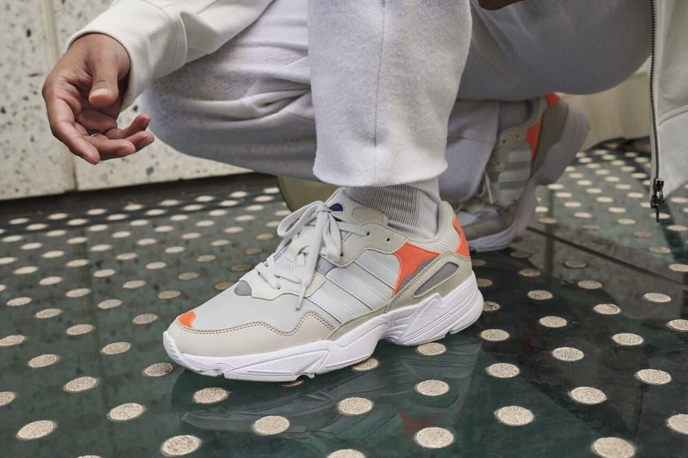 przystojny innowacyjny design więcej zdjęć adidas Originals Releases Yung 96 White Orange | HYPEBAE