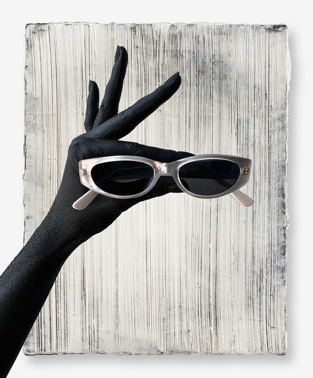 against the sun sunglasses eyewear collection vintage dead stock stainless steel acetate