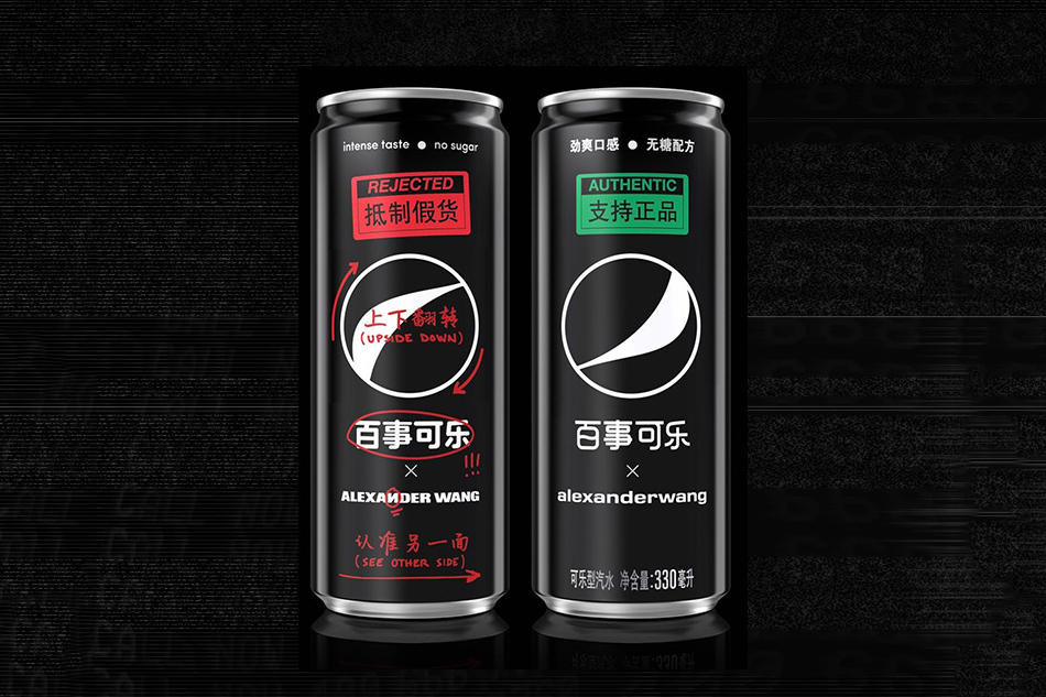 Alexander Wang Partners With Pepsi Black Soda Can Exclusive Limited Edition Design