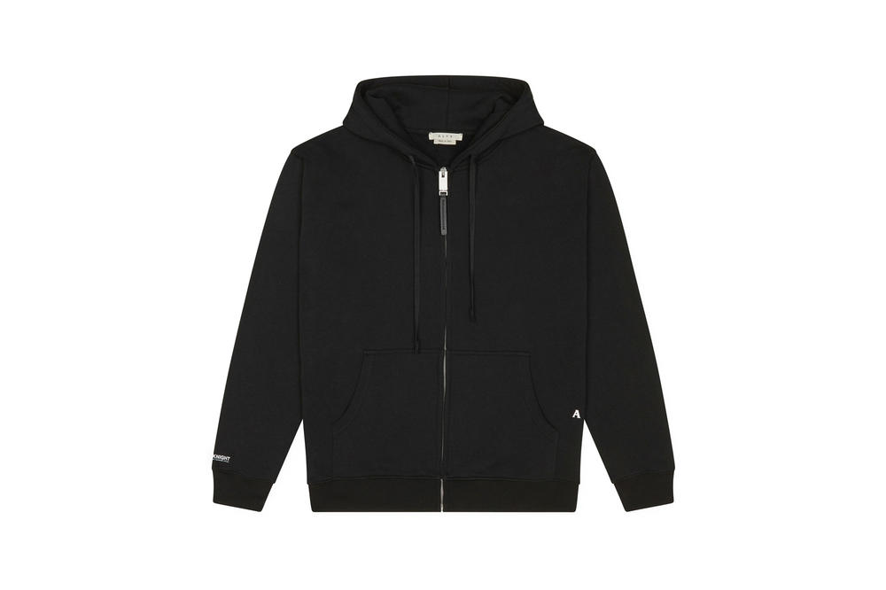 1017 ALYX 9SM x SHOWstudio Capsule Collection Demi Hoodie Zip Black