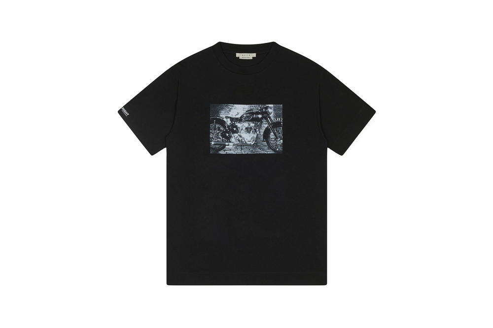 1017 ALYX 9SM x SHOWstudio Capsule Collection Triumph Twin Short Sleeve Tee Black