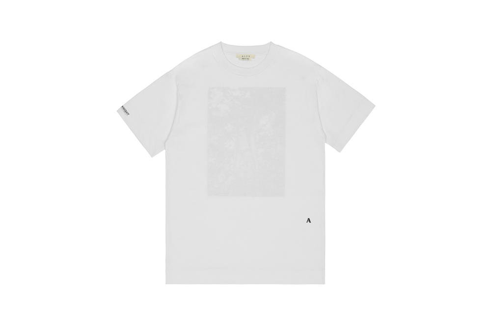 1017 ALYX 9SM x SHOWstudio Capsule Collection Stella Short Sleeve Tee White