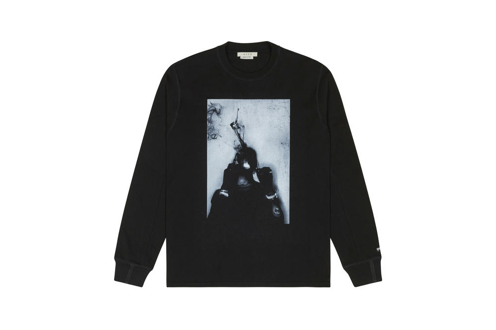1017 ALYX 9SM x SHOWstudio Capsule Collection Travis Long Sleeve Tee Black