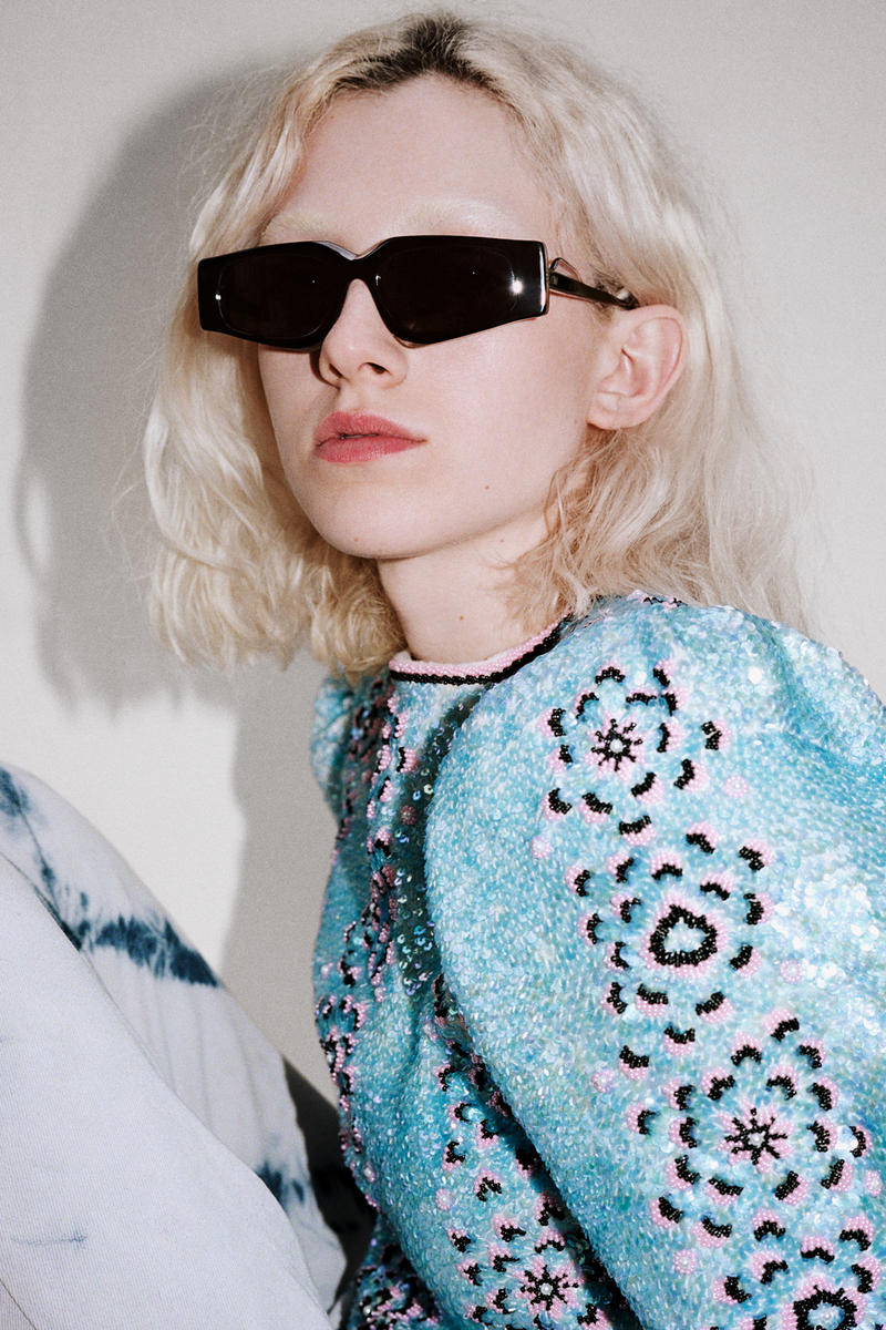 Ashley Williams x Ace & Tate Sunglasses Capsule Collection Hell Raiser Obsidian