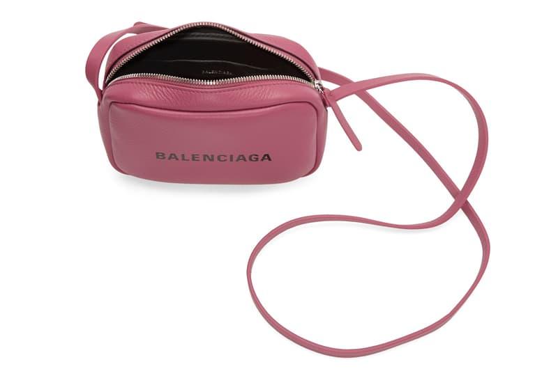Balenciaga Logo Camera Bag XS Hot Pink